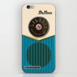 The Nakashuma Mark 1 in Blue iPhone Skin