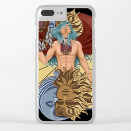Tempus guardian of time Clear iPhone Case