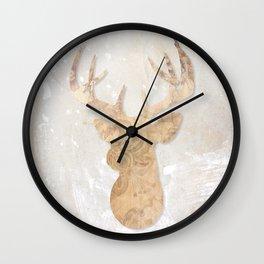 Modern Deer Wall Clock