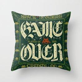 GAME OVER! Throw Pillow