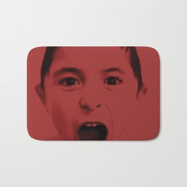 Red and you shout Bath Mat
