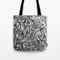 Conquer (Black & White Version)  Tote Bag