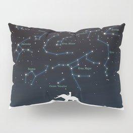 Falling star constellation Pillow Sham