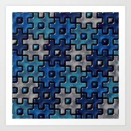 Geometrix LVII Art Print