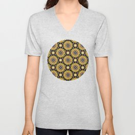 Sunbeam Mandala Unisex V-Neck