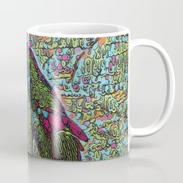 Abstract Penguin Coffee Mug