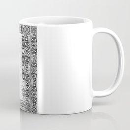 Mononoke Hime Wolf Pride Letterpress Line Work Coffee Mug