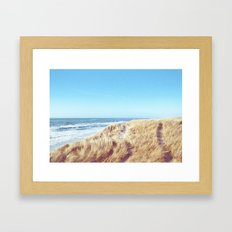 WIDE AND FREE Framed Art Print