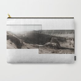 Utah Desert Dawn Carry-All Pouch