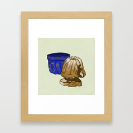 G is for Gugelhupf Framed Art Print