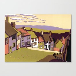 Gold Hill Canvas Print