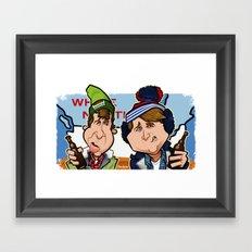 Hosers, eh? Framed Art Print