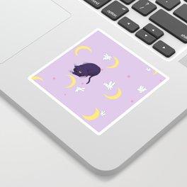 Sailor moon bed Sticker
