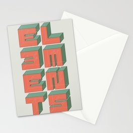 Elements Stationery Cards