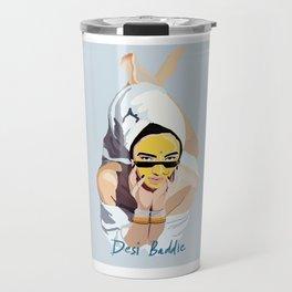 Desi Baddie Travel Mug