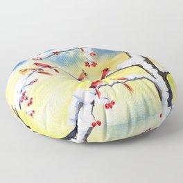 Winter Song 2 Floor Pillow