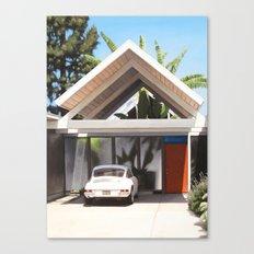 Eichler With Porsche Canvas Print