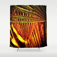 the xx Shower Curtains featuring abstract xx by  Agostino Lo Coco