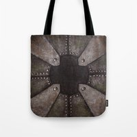 steampunk Tote Bags featuring Steampunk by PiliArt