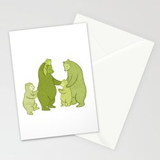 Bear family of Five Stationery Cards