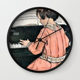 Jessie Willcox Smith - Tone - Digital Remastered Edition Wall Clock