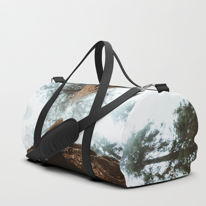 dabbbf7ab4 Stand in Awe of the Giant Forest Duffle Bag by jasde