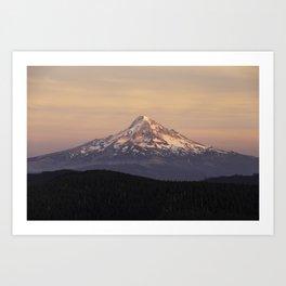 Mt. Hood Backcountry Art Print