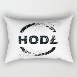 litecoin hodl Rectangular Pillow
