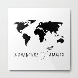 Adventure Map II Metal Print