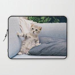 Baby Cat Art Print Laptop Sleeve