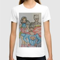 dc comics T-shirts featuring DC: Trinity by aka-noodle