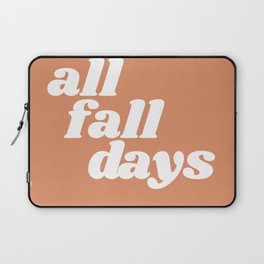 all fall days Laptop Sleeve