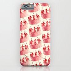 Cherry Cake Pattern iPhone 6s Slim Case