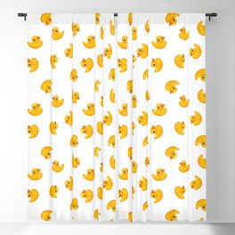 Rubber duck toy Blackout Curtain