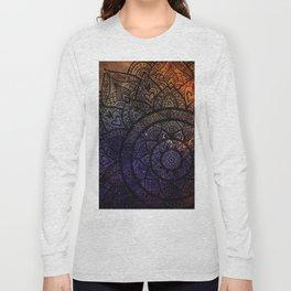 Space mandala 17 Long Sleeve T-shirt