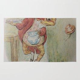 Jeremy Fisher by Beatrix Potter Rug