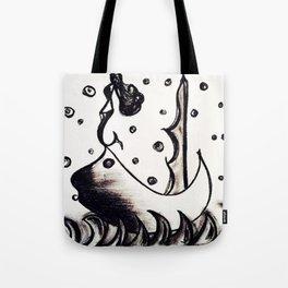 Siren of the sea men Tote Bag