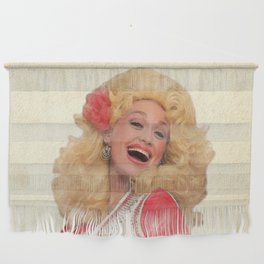 Dolly Parton - Watercolor Wall Hanging