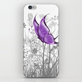 Fantasy Butterfly #7 iPhone Skin