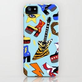 Glam Rock Starter Pack Print iPhone Case