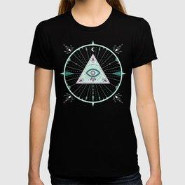 Evil Eye Mandala – Mint T-shirt