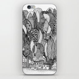 Mysterious Village iPhone Skin