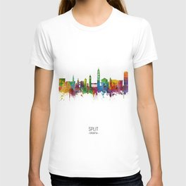 Split Croatia Skyline T-shirt