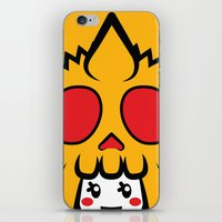 pagan iPhone & iPod Skins featuring Pagan Mustard by Pagan Holladay