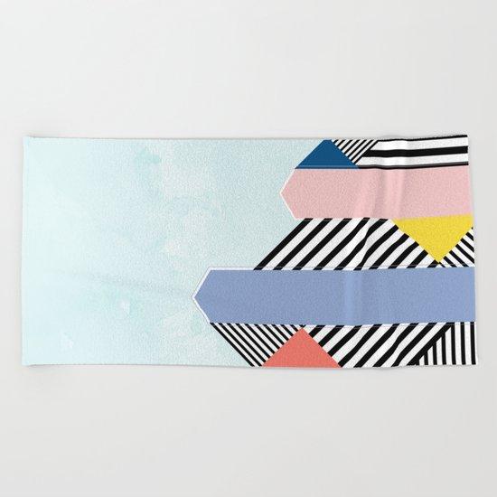 Pantone Colors of the Year 2016  Beach Towel