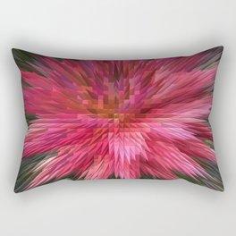 170 - crazy digital flower Rectangular Pillow