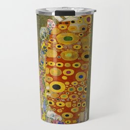 Hope II by Gustav Klimt Travel Mug
