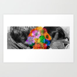'How do you feel about the human touch' Art Print