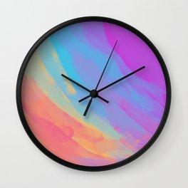 full color summer Wall Clock