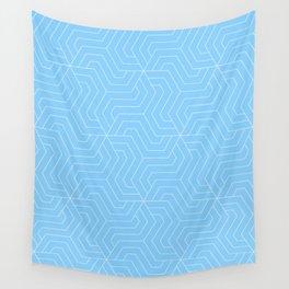 Light sky blue - heavenly - Modern Vector Seamless Pattern Wall Tapestry